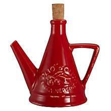 Buy Virginia Casa Toscana Olive Oil Bottle, Red Online at johnlewis.com