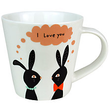 Buy Becky Baur 'I Love You' Mug Online at johnlewis.com