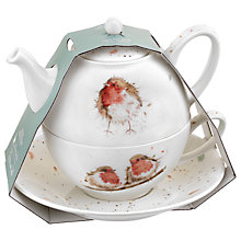 Buy Royal Worcester Wrendale 'Robin' Tea-for-One Online at johnlewis.com