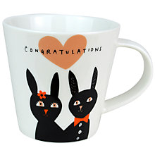 Buy Becky Baur 'Congratulations' Mug Online at johnlewis.com