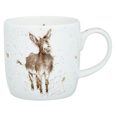 Royal Worcester Wrendale Donkey Mug & Coaster Set