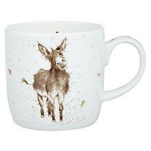 Buy Royal Worcester Wrendale Donkey Mug & Coaster Set Online at johnlewis.com