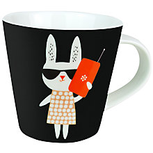 Buy Becky Baur 'Phone' Mug Online at johnlewis.com