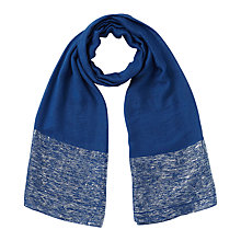 Buy East Sparkle Border Scarf, Cobalt Online at johnlewis.com
