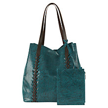 Buy East Snake Printed Bucket Handbag Online at johnlewis.com