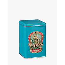 Buy LEON Crest Medium Tin, Teal Online at johnlewis.com