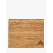 Buy LEON Large Oak Chopping Board Online at johnlewis.com