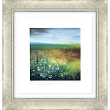 Buy Amanda Hoskin - Autumn Field Bodmin Moor Limited Edition Framed Screen Print, 65 x 62cm, Gold Frame Online at johnlewis.com