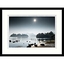 Buy Mike Shepherd - Derwent Water Framed Print, 84 x 64cm Online at johnlewis.com