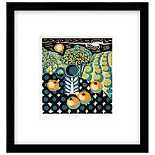Buy Jane Walker - Orange Tree Limited Edition Framed Linocut, 53 x 50cm Online at johnlewis.com
