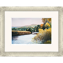 Buy Frances St Clair Miller - Autumn Afternoon on the River Wye, Original Etching and Aquatint, Framed, 91 x 72cm Online at johnlewis.com