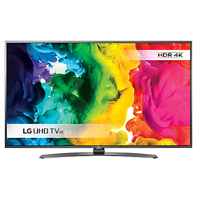LG 55UH661V LED HDR 4K Ultra HD Smart TV, 55 With Freeview HD/freesat HD & Metallic Design