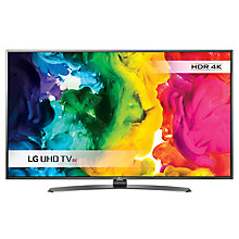 "Buy LG 55UH661V LED HDR 4K Ultra HD Smart TV, 55"" With Freeview HD/freesat HD & Metallic Design Online at johnlewis.com"