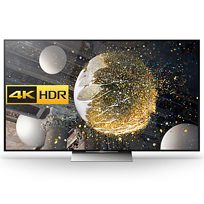 "Sony Bravia 75XD9405 LED HDR 4K Ultra HD 3D Android TV, 75"" With Youview/Freeview HD, Playstation Now & Floating Style Design"