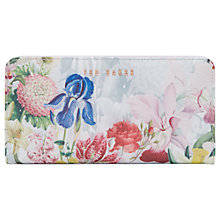 Buy Ted Baker Sandine Cross Hatch Leather Matinee Purse, Ivory Online at johnlewis.com