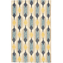 Buy west elm Teardrop Ikat Kilim Rug, Blue Online at johnlewis.com