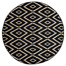 Buy west elm Kite Kilim Rug, Black Online at johnlewis.com