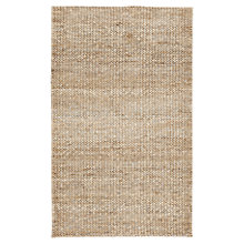 Buy west elm Tonal Braided Jute Rug, Natural Online at johnlewis.com