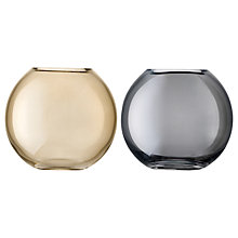 Buy LSA International Polka Vase Duo, H11cm, Bronze & Zinc Online at johnlewis.com