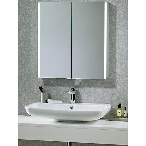 Buy John Lewis Led Trace Double Illuminated Bathroom Cabinet John Lewis