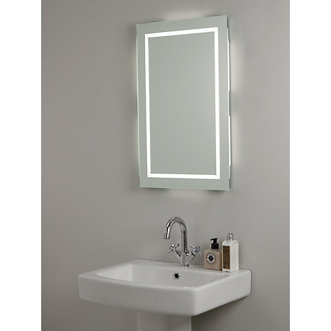 buy john lewis led frame illuminated bathroom mirror. Black Bedroom Furniture Sets. Home Design Ideas