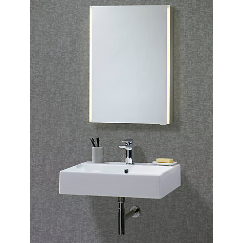 Buy john lewis led trace illuminated bathroom cabinet john lewis John lewis bathroom design and fitting