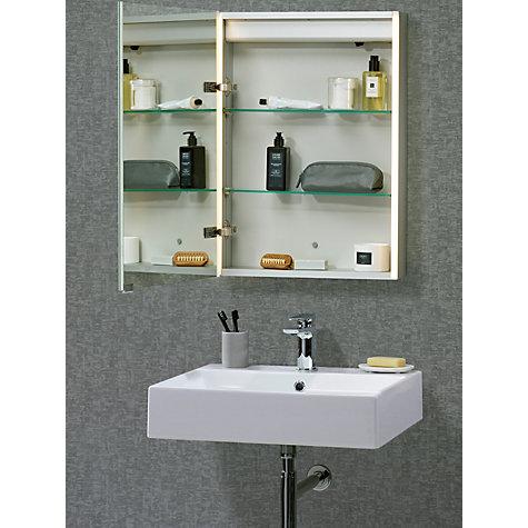 Buy John Lewis Led Trace Illuminated Bathroom Cabinet John Lewis