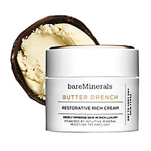 Buy bareMinerals Butter Drench Restorative Rich Cream, 50ml Online at johnlewis.com