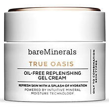 Buy bareMinerals True Oasis Oil-Free Replenishing Gel Cream, 50ml Online at johnlewis.com