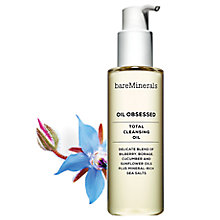 Buy bareMinerals Oil Obsessed Total Cleansing Oil, 175ml Online at johnlewis.com