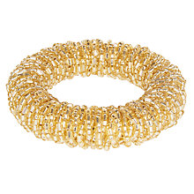 Buy John Lewis Sparkle Napkin Ring, Gold Online at johnlewis.com