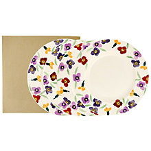 Buy Emma Bridgewater Wallflower 28cm Plate, Set of 4 Online at johnlewis.com