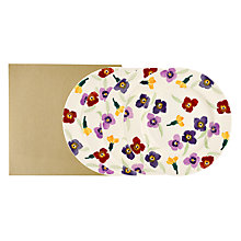 Buy Emma Bridgewater Wallflower 22cm Plate, Set of 4 Online at johnlewis.com