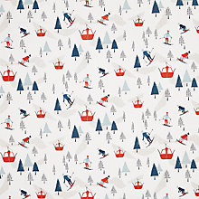 Buy John Lewis Chamonix Christmas PVC Tablecloth Fabric Online at johnlewis.com