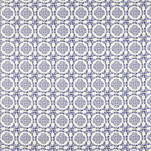 Buy John Lewis Sintra PVC Table Covering Fabric, Blue Online at johnlewis.com
