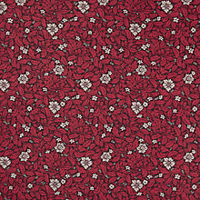 Buy John Lewis Coniston Print Furnishing Fabric, Wine Online at johnlewis.com