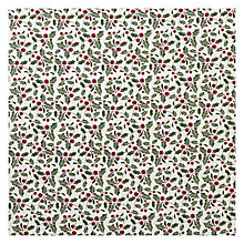 Buy John Lewis Holly PVC Tablecloth Fabric Online at johnlewis.com