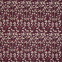 Buy John Lewis Askham Curtain, Plum Online at johnlewis.com