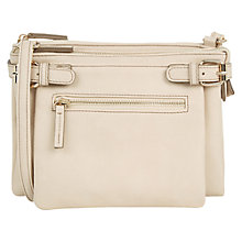 Buy Oasis Double Compartment Across Body Bag Online at johnlewis.com