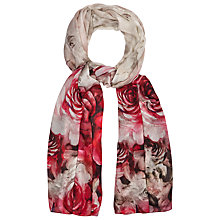 Buy Phase Eight Alice Floral Print Scarf, Multi Online at johnlewis.com
