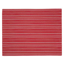 Buy John Lewis Red Star Placemats, Set of 2 Online at johnlewis.com