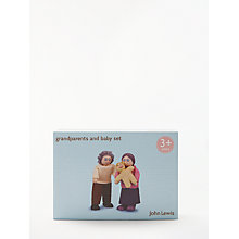 Buy John Lewis Doll's House Baby and Grandparents Dolls Online at johnlewis.com