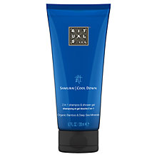 Buy Rituals Samurai Cool Down 2-in-1 Shampoo & Shower Gel, 200ml Online at johnlewis.com