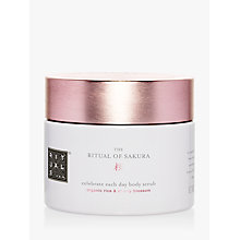 Buy Rituals Sakura Sugar Scrub, 375g Online at johnlewis.com
