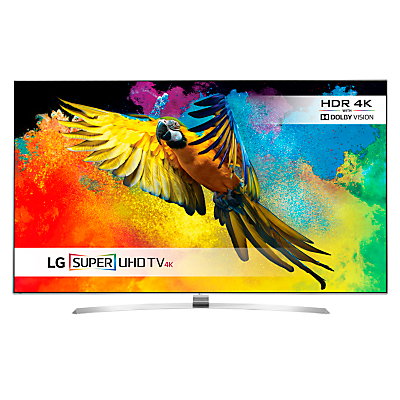 "LG 55UH950 LED HDR Super 3D 4K Ultra HD Smart TV, 55"" With Freeview HD/freesat HD, Harman Kardon Sound & Mono Screen Design"
