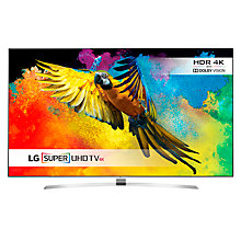"Buy LG 55UH950 LED HDR Super 3D 4K Ultra HD Smart TV, 55"" With Freeview HD/freesat HD  +  Sound Bar with Wireless Subwoofer Online at johnlewis.com"