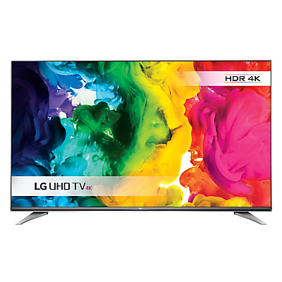 "LG 43UH750V LED HDR 4K Ultra HD Smart TV, 43"" With Freeview HD/freesat HD & Eiffel Stand"