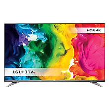 "Buy LG 43UH750V LED HDR 4K Ultra HD Smart TV, 43"" With Freeview HD/freesat HD & Eiffel Stand Online at johnlewis.com"