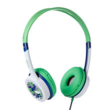 Buy ZAGG ifrogz Little Rockerz Children's Volume Limiting On-Ear Headphones, Blue/Green Car Online at johnlewis.com