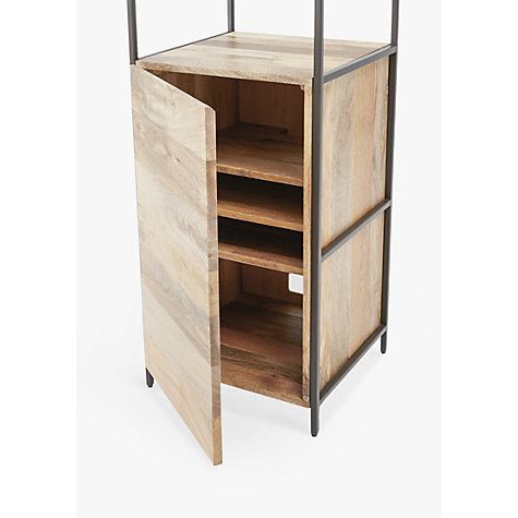 Buy West Elm Industrial Modular 43cm Open And Closed